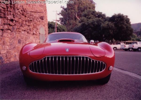ex_Otto Linton Siata 208cs restored in Red