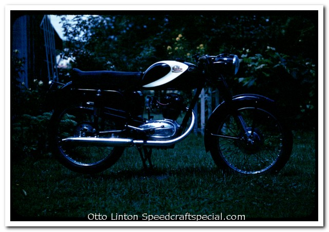 FB-Mondial 125 Sport at Harewood Acres by Otto Linton