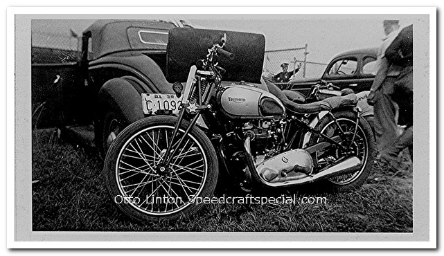 Triumph 1939 Tiger 100 AMA Bike