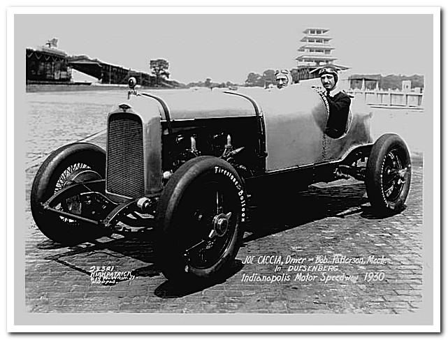 Duesenberg Straight 8 Indy 1930