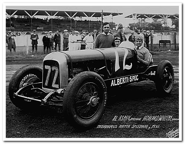 Duesenberg Straight 8 Indy 1931