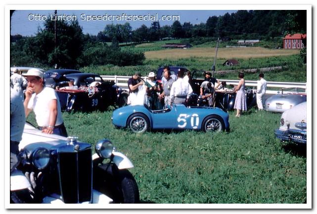 Siata Prototype at Brynfan Tyddyn 1952