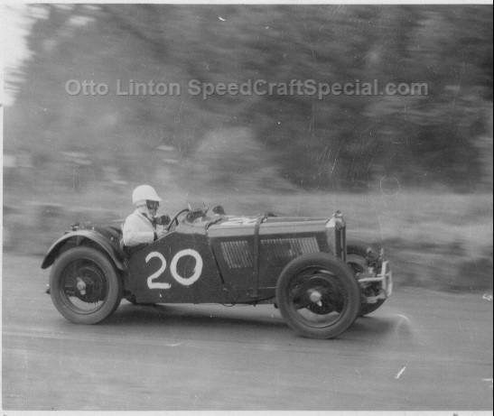 Otto Linton's MG J4 3