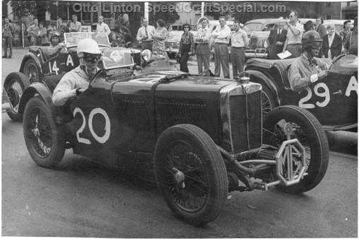 Otto Linton's MG J4 4