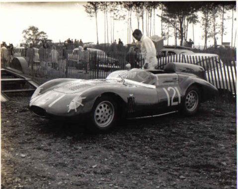 Otto Linton's OSCA 750s 1