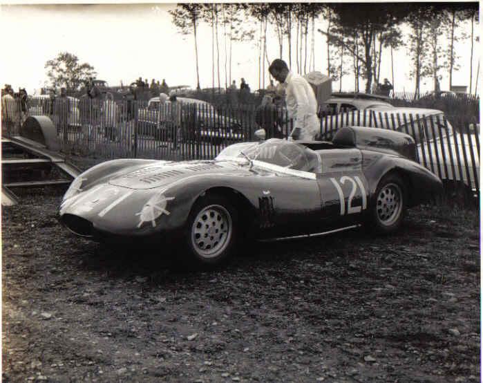Otto Linton's OSCA 750s 3